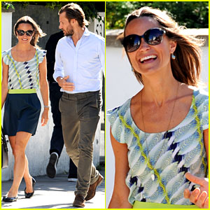 Pippa Middleton's Handsome Pal Sure Can Make Her Laugh!