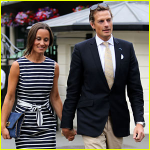 Pippa Middleton & Boyfriend Nico Jackson Hold Hands at Wimbledon!