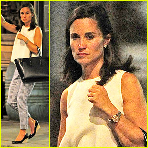 Pippa Middleton Says She Spends a Lot of Time with Sister Kate