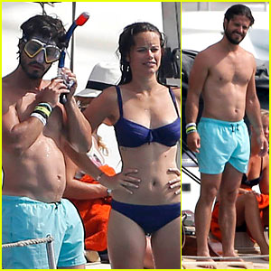 Sweden's Super Hot Prince Carl Philip Goes Shirtless in Ibiza!