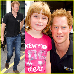 Prince Harry Makes One Lucky Girl's Day with a Mini Photo Shoot!
