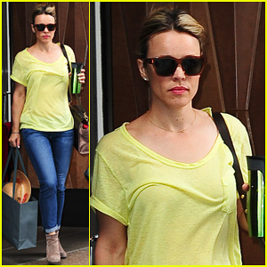 Rachel McAdams Exits NYC Before 'A Most Wanted Man' Hits Theatres Everywhere!