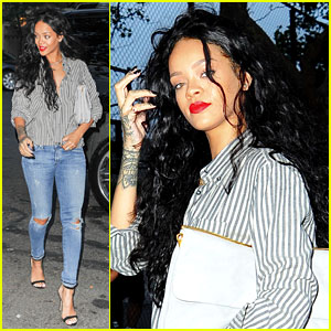 Rihanna Is Da Chicest Gal at Da Silvano