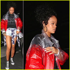 Rihanna Rooted Hard for Team USA in World Cup!
