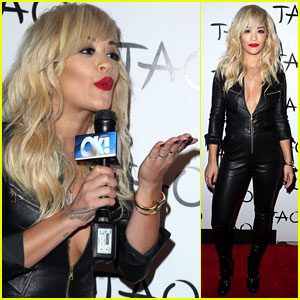 Rita Ora is the Hostess with the Mostess at TAO in Las Vegas!