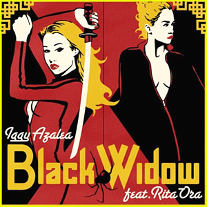 Rita Ora & Iggy Azalea Reveal 'Black Widow' Single Artwork
