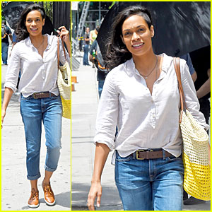 Rosario Dawson Is Happy To Be 'Finally Famous'!