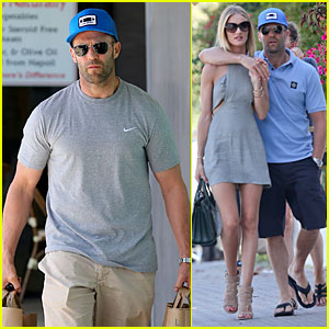 Rosie Huntington-Whiteley & Jason Statham Can't Keep Their Hands Off Each Other in Malibu!