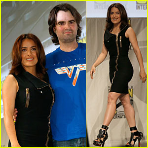Salma Hayek Teases Us By Saying She Barely Wears Anything in 'Everly'