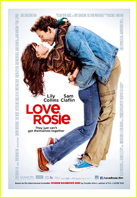 Lily Collins & Sam Claflin Make Such a Cute Couple in New 'Love, Rosie' Poster!