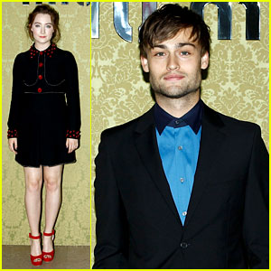 Saoirse Ronan & Douglas Booth Make Their Miu Miu Mark!