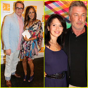 Sarah Jessica Parker & Matthew Broderick Put On Their Hamptons Finest for 'Clever Little Lies'