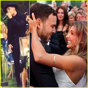 Scooter Braun Gets Married Justin Bieber Performs See Photos