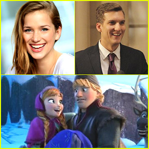 Scott Michael Foster & Elizabeth Lail Are Kristoff & Anna on 'Once Upon A Time'!