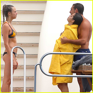 Selena Gomez Gets Wrapped Up in the Arms of Tommy Chiabra in Saint-Tropez!