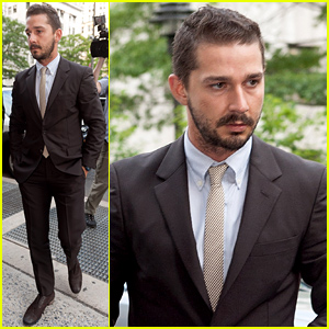 Shia LaBeouf Arrives for Court, Is Working Out a Plea Deal for His Recent Arrest Charges
