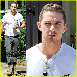 Shia LaBeouf Is Clean Shaven & Looking Healthy These Days!