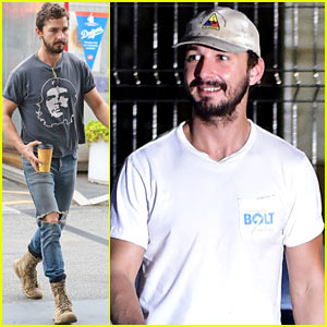 Shia LaBeouf Steps Out Following Reports That He Entered Rehab (Photos)
