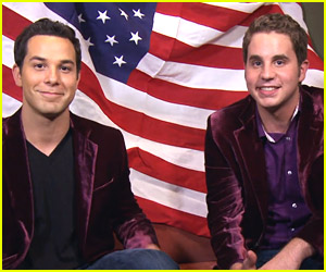 Pitch Perfect 2's Skylar Astin & Ben Platt Sing 'America The Beautiful' for Fourth of July Holiday