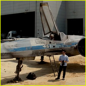 Star Wars' JJ Abrams Unveils the New X-Wing for Omaze's Force for Change