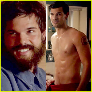 Taylor Lautner Goes Shirtless & Bearded in New 'Cuckoo' Trailer!