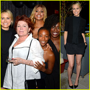 Taylor Schilling Celebrates 30th Birthday with 'Orange Is the New Black' Cast!