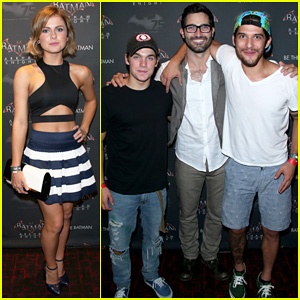 'Teen Wolf' Stars Tyler Hoechlin & Tyler Posey Celebrate Batman's 75th Anniversary at Comic-Con!