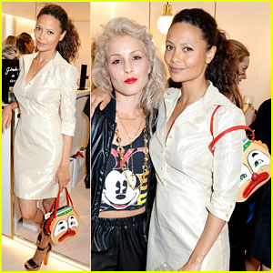 Thandie Newton's Clown Purse is Our Favorite New Accessory!
