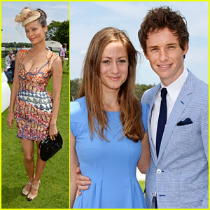 Thandie Newton & Eddie Redmayne Go Polo Perfect for Audi!