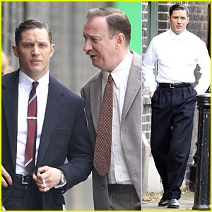 Tom Hardy Gets Really Serious For 'Legend'!