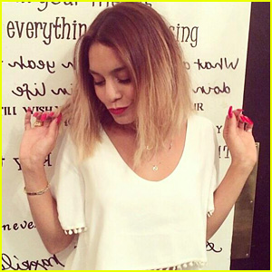 Vanessa Hudgens Cuts Hair, Goes for the Long Bob Look!