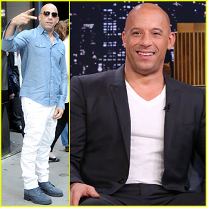 Vin Diesel Says I Am Groot in Multiple Languages for 'The Tonight Show' - Watch Now!