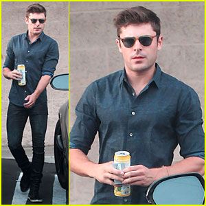 Zac Efron Steps Out After Addressing Addiction on 'Running Wild with Bear Grylls'