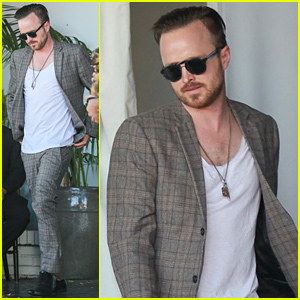 Aaron Paul Has Lots to Celebrate...His Emmy Win & His 35th Birthday!
