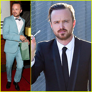 Aaron Paul's Wife Lauren Opens Up About the Emmy Shout Out!