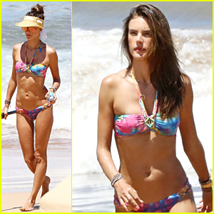 Bikini-Clad Alessandra Ambrosio Captures Vacation Moments on Waterproof Camera