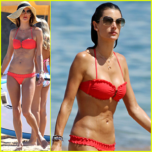 Alessandra Ambrosio Puts Her Flawless Bikini Body on Display in Hawaii