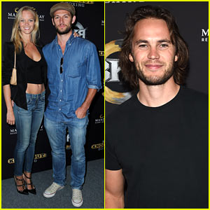 Alex Pettyfer & Girlfriend Marloes Horst Make First Red Carpet Appearance Together!
