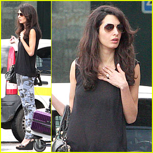 Amal Alamuddin Celebrates Bridal Shower at George Clooney's 'Ocean Thirteen' Co-star Ellen Barkin's Home