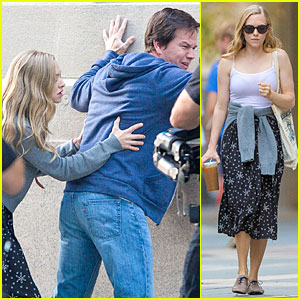 Amanda Seyfried Feels Up Mark Wahlberg Against a Wall For 'Ted 2'