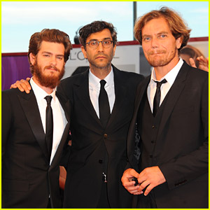 Andrew Garfield & His Bushy Beard Premiere '99 Homes' In Venice