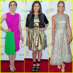 Anna Chlumsky & Mayim Bialik Step Out for Annual Emmys Nominee Reception
