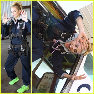 AnnaLynne McCord: Who Would You Jump Out of a Plane for?