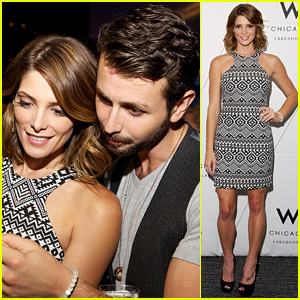 Ashley Greene & Paul Khoury Look So Cute Together at Chicago W Hotel Party!