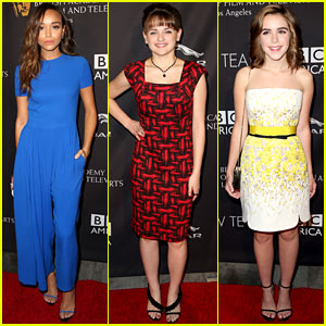 Ashley Madekwe & Joey King Bring Class to BAFTA Tea Party!