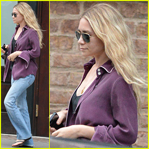 Ashley Olsen Makes a Mad Dash to Her Car in New York City