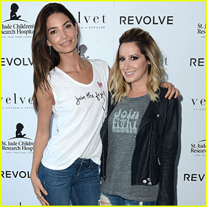Ashley Tisdale & Lily Aldridge Launch Velvet's Childhood Cancer Benefit Collection