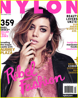 Aubrey Plaza Wants Kids Right Now & Talks Running For Political Office with 'Nylon'!