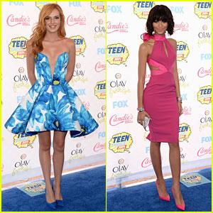 Bella Thorne & Zendaya Shake Up the Teen Choice Awards 2014