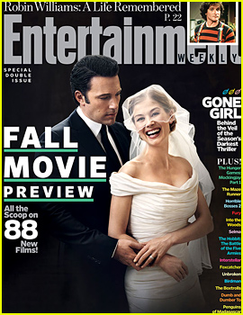 Ben Affleck & Rosamund Pike Get Married as Nick & Amy in Gone Girl's 'EW' Cover